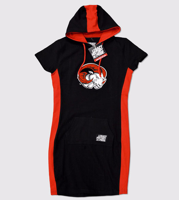 "Winston Salem State University  ""Ri-Ri"" Hooded Dress"