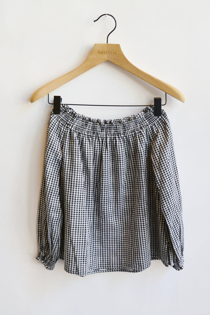 Rag & Bone Drew Top Gingham