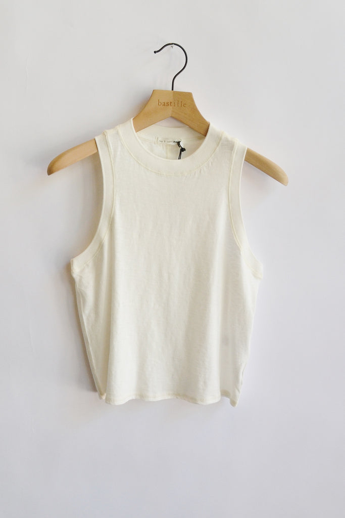 Rag & Bone Slub Mock Neck Tank