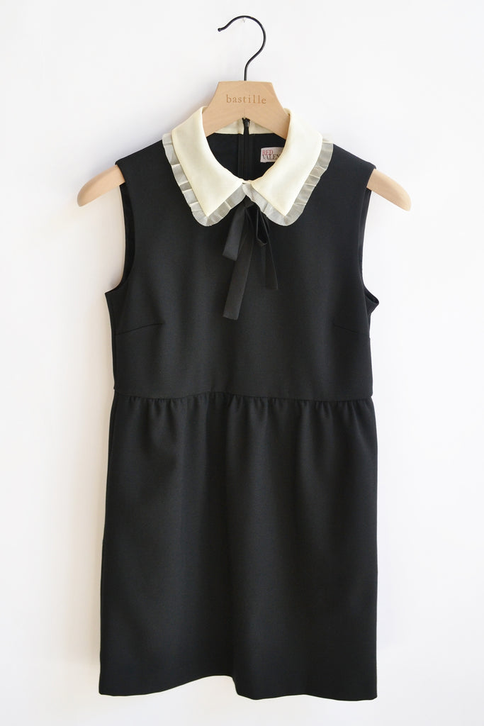 RED Valentino Cady White Collar Dress