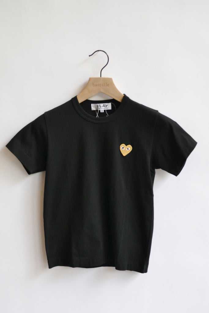 Comme des Garçons PLAY P1T215 PLAY T-Shirt with Gold Heart