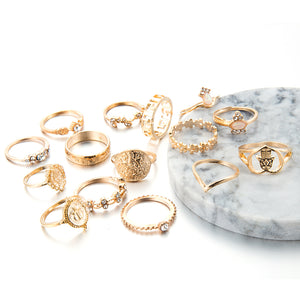 Lot of women's rings [collection Rosalia]
