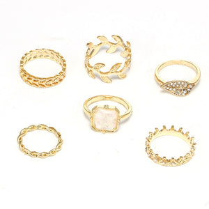 Lot of women's rings [collection Rosalia] model 01