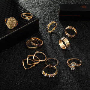 Lot of women's rings [collection Rosalia] model 05