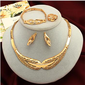 Women's jewelry set  [2020 collection] model 08