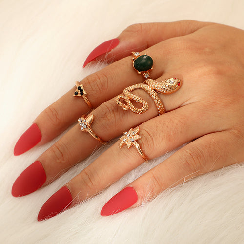 Lot of women's rings [collection Rosalia] model 02