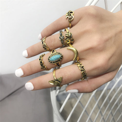 Lot of women's rings [collection Rosalia] model 06