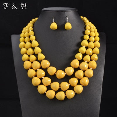 Women's jewelry set  [2020 collection] model 11