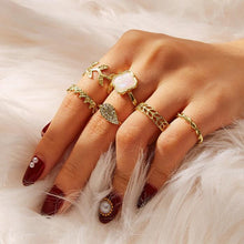 Load image into Gallery viewer, Lot of women's rings [collection Rosalia] model 01