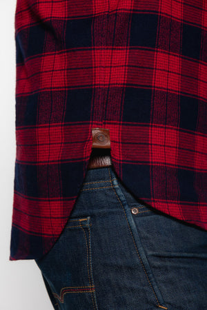 Tobacco Flannel - Red