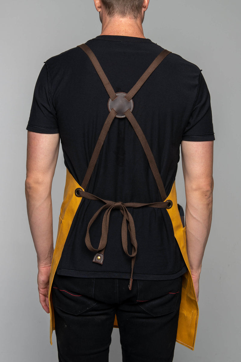 Tobacco Motorwear Shop Apron - Butterscotch
