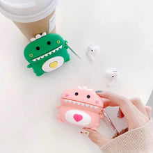 Load image into Gallery viewer, Cute Dino Premium AirPods Pro Case Shock Proof Cover