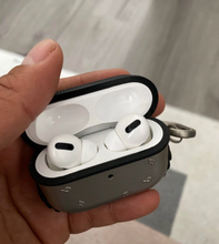 Load image into Gallery viewer, Metal Silicone AirPods Pro Case Shock Proof Cover