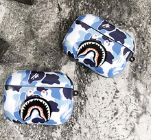 Load image into Gallery viewer, Fashion Camouflage Shark AirPods Pro Case Shock Proof Cover