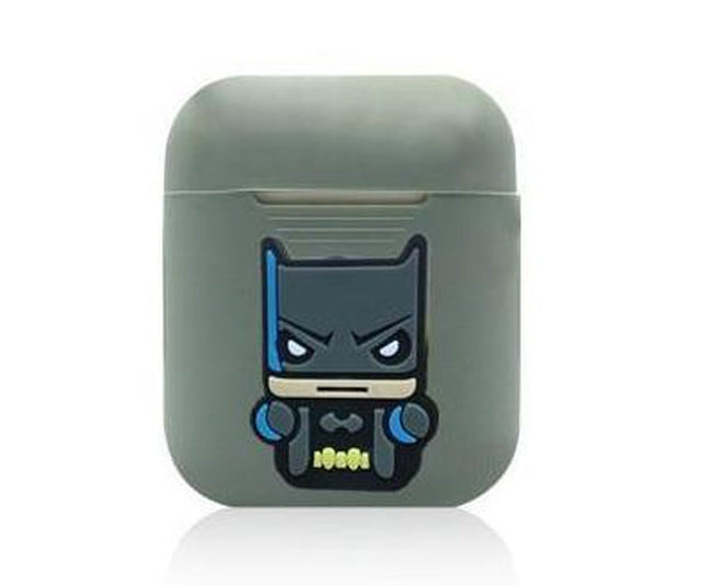 Batman Action Grey AirPods Case Shock Proof Cover-iAccessorize