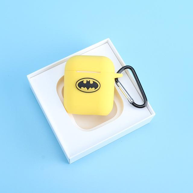 Batman Yellow AirPods Case Shock Proof Cover-iAccessorize