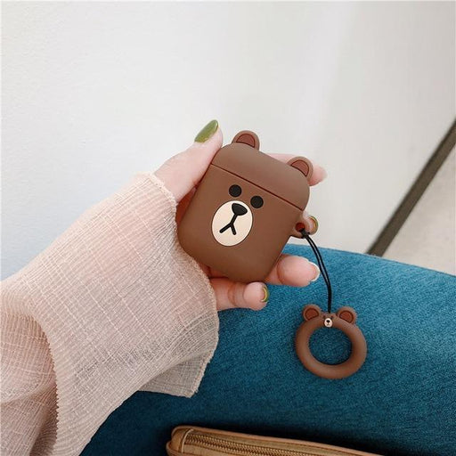 Bear AirPods Case Shock Proof Cover-iAccessorize