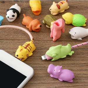 Biting Bunny iPhone Lightning Cable USB Cable Protector-iAccessorize