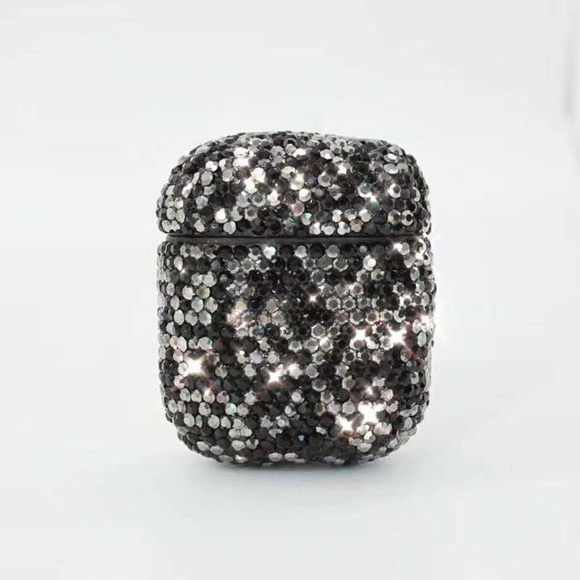 Black Diamond AirPods Case Shock Proof Cover-iAccessorize