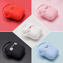 Load image into Gallery viewer, Black Headphones Cat AirPods Case Shock Proof Cover-iAccessorize