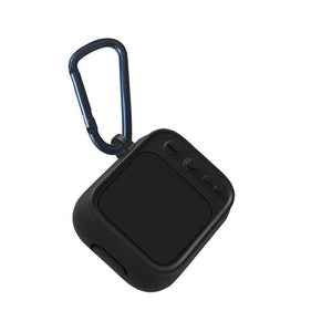 Black Tube TV AirPods Case Shock Proof Cover-iAccessorize