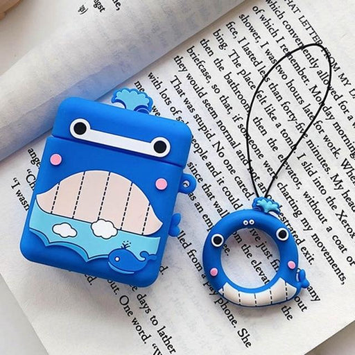 Blue Whale AirPods Case Shock Proof Cover-iAccessorize