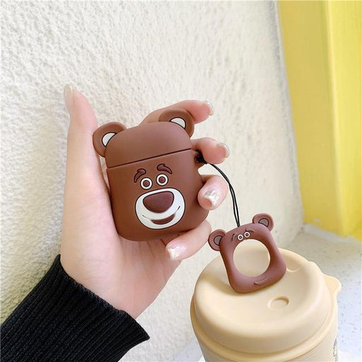 Brown Bear Premium AirPods Case Shock Proof Cover-iAccessorize