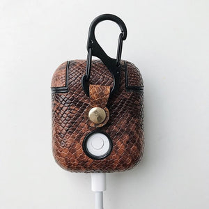 Brown Boa AirPods Case Shock Proof Cover-iAccessorize