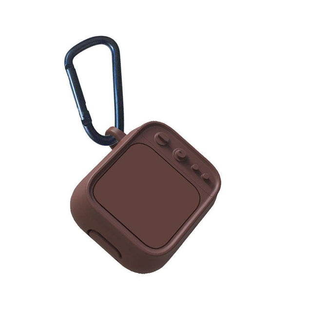 Brown Tube TV AirPods Case Shock Proof Cover-iAccessorize
