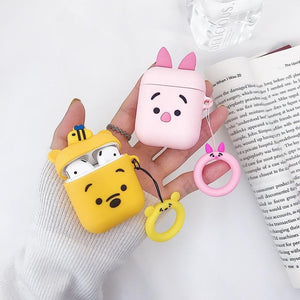 Bumble Bee Bear AirPods Case Shock Proof Cover-iAccessorize