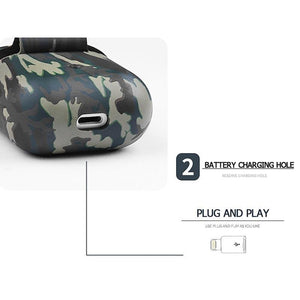 Camouflage AirPods Case Shock Proof Cover-iAccessorize