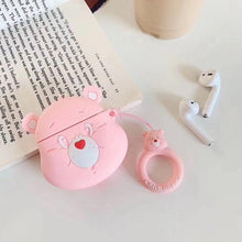 Load image into Gallery viewer, Care Bears 'Cheer Bear' Premium AirPods Case Shock Proof Cover-iAccessorize