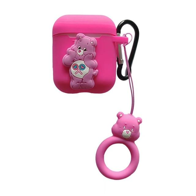 Care Bears Share Bear AirPods Case Shock Proof Cover-iAccessorize