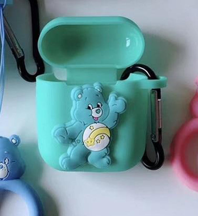 Care Bears Wish Bear AirPods Case Shock Proof Cover-iAccessorize