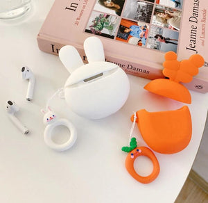 Carrot Premium AirPods Case Shock Proof Cover-iAccessorize