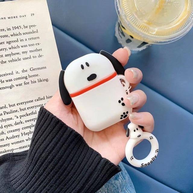 Charlie Brown 'Snoopy Pup' Premium AirPods Case Shock Proof Cover-iAccessorize