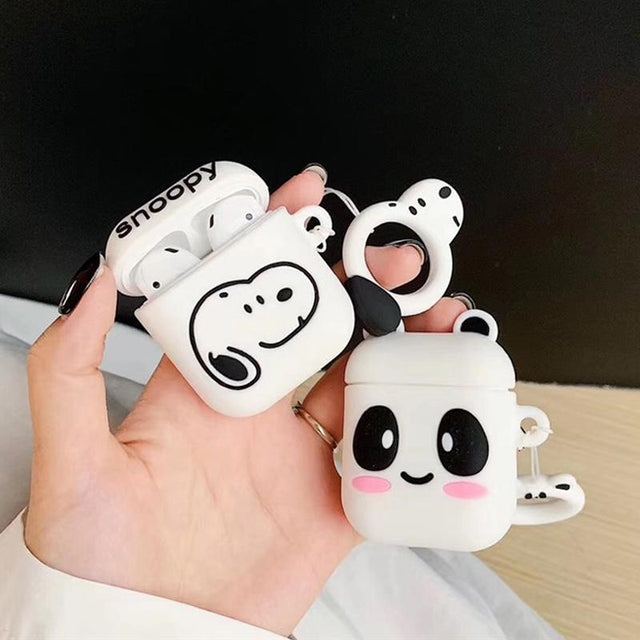Cheeky Panda AirPods Case Shock Proof Cover-iAccessorize