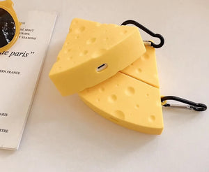 Cheese Premium AirPods Case Shock Proof Cover