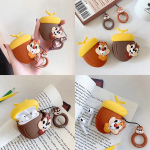 Chip and Dale 'Chip' Premium AirPods Case Shock Proof Cover-iAccessorize