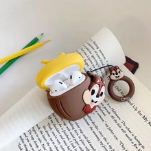Load image into Gallery viewer, Chip and Dale 'Chip' Premium AirPods Case Shock Proof Cover-iAccessorize