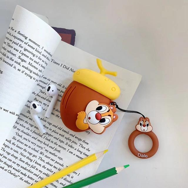 Chip and Dale 'Dale' Premium AirPods Case Shock Proof Cover-iAccessorize