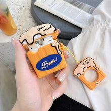 Load image into Gallery viewer, Classic Beer Gold Mug Premium AirPods Case Shock Proof Cover-iAccessorize