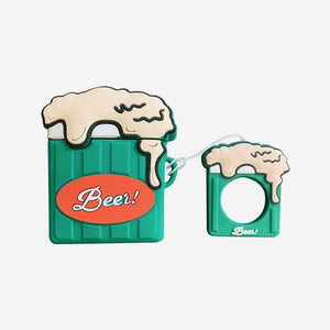 Classic Beer Green Mug Premium AirPods Case Shock Proof Cover-iAccessorize