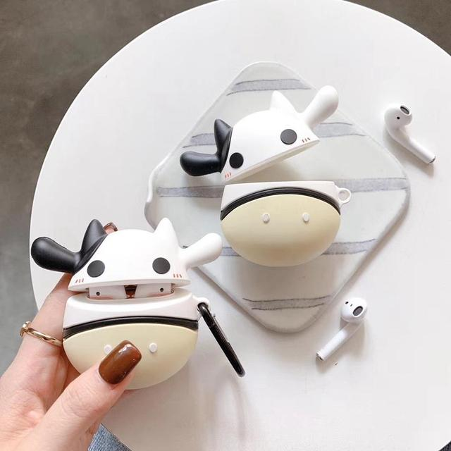 Cow Premium AirPods Case Shock Proof Cover-iAccessorize