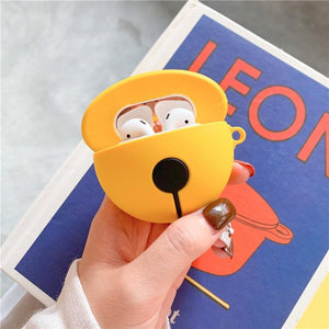 Doraemon 'Gold Bell' Premium AirPods Case Shock Proof Cover-iAccessorize