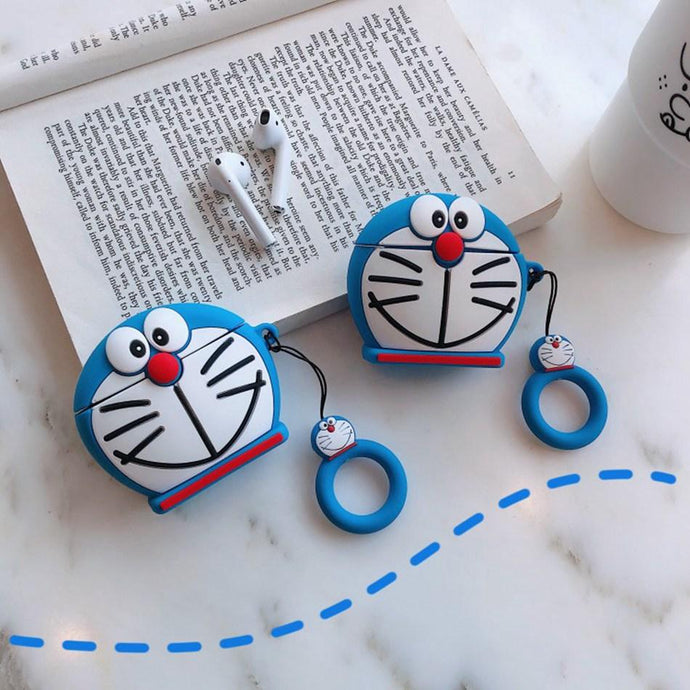 Doraemon Premium AirPods Case Shock Proof Cover-iAccessorize