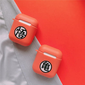 Dragon Ball Kanji AirPods Case Shock Proof Cover-iAccessorize