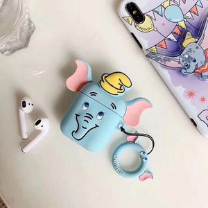 Dumbo Blue Premium AirPods Case Shock Proof Cover-iAccessorize