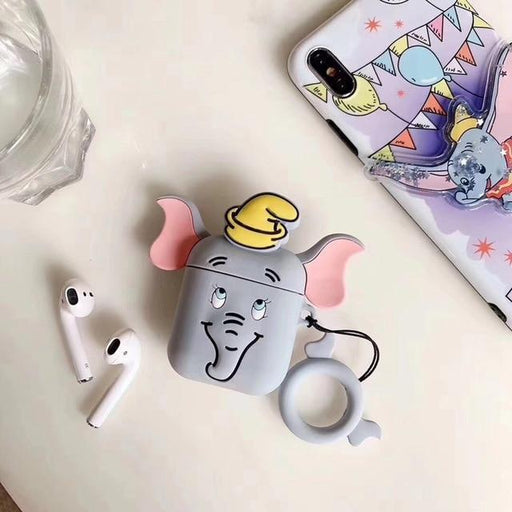 Dumbo Grey Premium AirPods Case Shock Proof Cover-iAccessorize