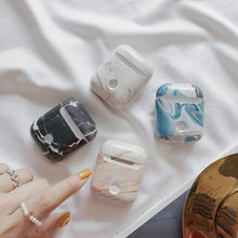 Load image into Gallery viewer, Dumortierite Marble AirPods Case Shock Proof Cover-iAccessorize
